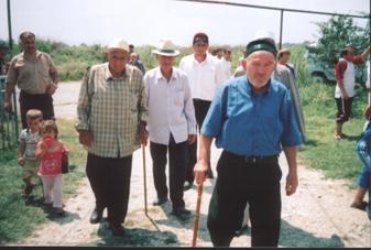 Приезд старейшин из Чечни на 'Мавлид' в Дагестан